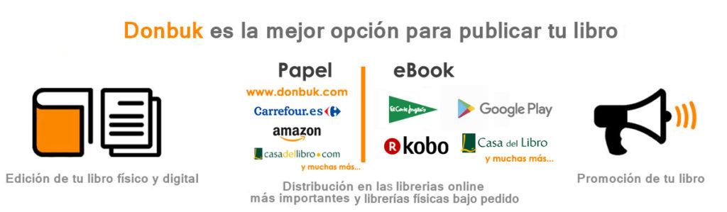 donbuk distribución servicio editorial
